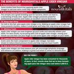 NourishVitals Apple Cider Vinegar with Mother Vinegar (Raw Unfiltered & Undiluted) 250 ml