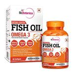 St.Botanica Enteric-Coated Fish Oil Omega 3 Softgels 60's