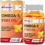 St.Botanica Omega-3 Fish Oil 300 mg Softgel 60's
