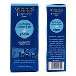 Vicco Turmeric Cream In Shaving Cream Base with Foam 30 gm