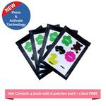 Baby Safety Inc Assorted Shapes Mosquito Repellent Patches (Pack of 24)