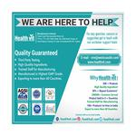 HealthVit Punarnava Powder 250 mg Capsule 60's
