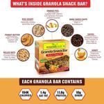 NourishVitals Granola Snack Bar - Mocha & Orange Peel (5 Bars) 250 gm