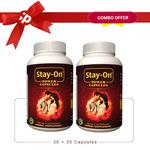 Stay-On Power Capsules for Men (Pack of 2 x 30's)