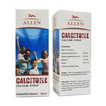 Allen Calcitone Calcium Syrup 100 ml