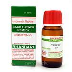 Bhandari Bach Flower Vervain 30 Liquid 30 ml