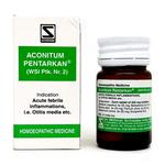 Dr. Willmar Schwabe Aconitum Pentarkan Tablet 20 gm