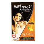 Manforce Stamina Extra Dotted - Orange Flavour Condom 10's