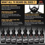 Man Arden 7X Beard Oil - Lavender 30 ml