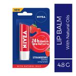 Nivea Buy 1 Get 1 Free Strawberry & Blackberry Shine Lip Balm 4.8 gm