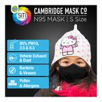 Dettol Cambridge Basic N95 Anti-Pollution Mask - Black (S)