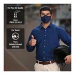 Dettol Cambridge Basic N95 Anti-Pollution Mask - Black (XL)