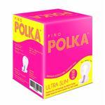 Pinq Polka Sanitary Premium Ultra Slim (XXL) Sanitary Pads 10's