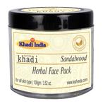 Khadi Leafveda Herbal Face Pack - Sandalwood 100 gm