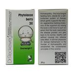 Dr. Reckeweg Phytolacca Berry 3x Tablet 20 gm