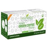 Neuherbs Instant Green Coffee Premix - Lemon Flavor (Pack of 3 gm x 25's)