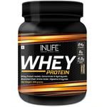INLIFE Whey Protein Powder Chocolate Flavour 400 gm
