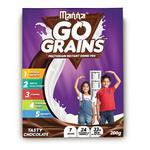 Manna Go Grains Multigrain Instant Drink Mix For Kids Chocolate Flavour 200 gm