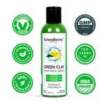 Greenberry Organics Green Clay Mud Face Wash 100 ml