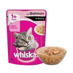 Whiskas Adult Gravy Salmon 85gm