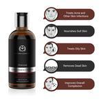 The Man Company Charcoal Body Wash - Lemongrass & Cinnamon 250 ml