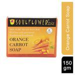 Soulflower Soap - Orange Carrot 150 gm