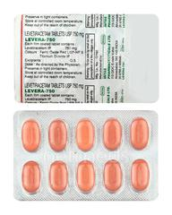 Levera 750mg Tablet 10'S
