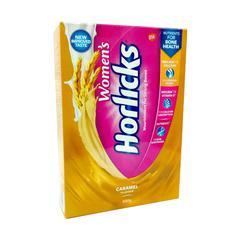 Women's Horlicks No Added Sugar Powder - Caramel Flavour 400 gm (Refill Pack)