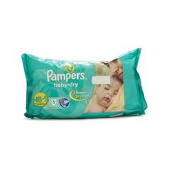 Pampers Baby-Dry NB Diapers (S) 5's