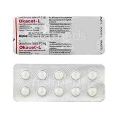 Okacet L Tablet 10'S