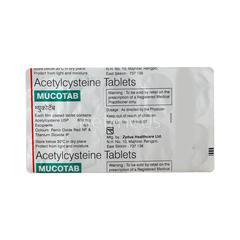 Mucotab Tablet 10'S