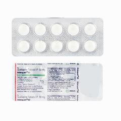 Adequet 50mg Tablet 10'S