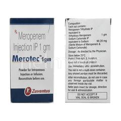 Merotec 1gm Injection