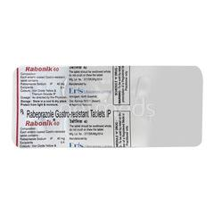 Rabonik 40mg Tablet 10'S