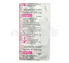 Cetil 250mg Tablet 10'S