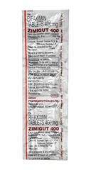 Zimigut 400mg Tablet 10'S