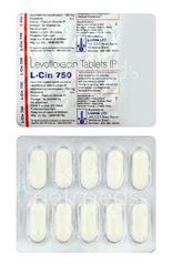 Lcin 750mg Tablet 10'S