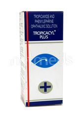 Tropicacyl Plus Eye Drops 5ml