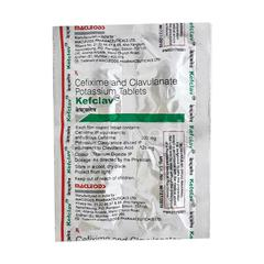 Kefclav 200mg Tablet 4'S