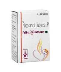 Nicostar 10mg Tablet 20'S