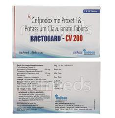 Bactogard CV 200mg Tablet 10'S