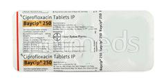 Baycip 250mg Tablet 10'S