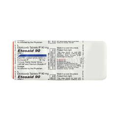 Etosaid 90mg Tablet 10'S