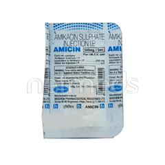 Amicin 500mg Injection 2ml