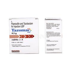 Tazomac 4.5gm Injection - Buy Medicines online at Best Price from  Netmeds.com