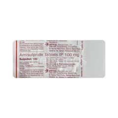 Sulpidon 100mg Tablet 10'S