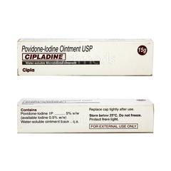 Cipladine 5% Ointment 15gm