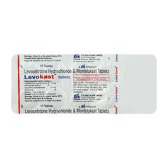 Levokast Tablet 10'S