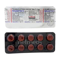 Pregalift ER 75mg Tablet 10'S