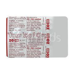 ZO 400mg Tablet 10'S